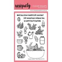 Εικόνα του Uniquelly Creative Σετ Σφραγίδων - Plants & Pots