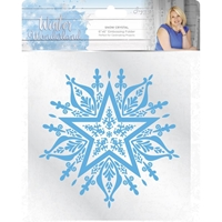 Εικόνα του Winter Wonderland Embossing Folder - Snow Crystal