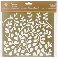 Εικόνα του Couture Creations Arabesque Stencil 8''x8'' - Creeping Vines