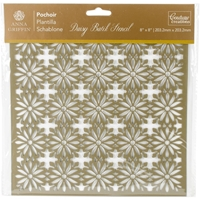 Εικόνα του Couture Creations Arabesque Stencil 8''x8'' - Daisy Batik