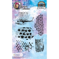 Εικόνα του Studio Light Mixed Media Rainbow Designs Stamps - Set 11