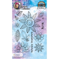 Εικόνα του Studio Light Mixed Media Rainbow Designs Stamps - Set 12