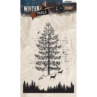 Εικόνα του Studio Light Winter Trails Stamps - Forest