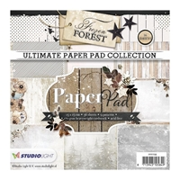 Εικόνα του Studio Light Paper Pad 6''x6'' - Frozen Forest