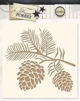 Εικόνα του Studio Light Stencil - Frozen Forest