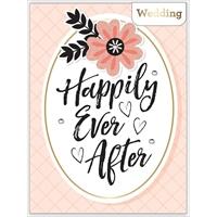 Εικόνα του American Crafts Ευχετήρια Κάρτα - Happily Ever After