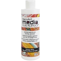 Εικόνα του Ακρυλικά DecoArt Media Fluid Acrylics - Titanium White 8oz