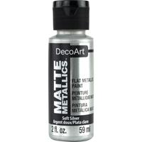 Εικόνα του Americana Acrylic Matte Metallics - Soft Silver