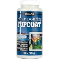 Εικόνα του DecoArt Clear Pouring Top Coat 16oz