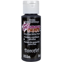 Εικόνα του Glamour Dust Glitter Paint - Black Ice