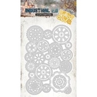 Εικόνα του Studio Light Industrial Cutting & Embossing Die - Gears Large