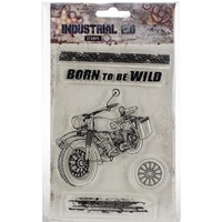 Εικόνα του Studio Light Industrial A6 Stamps - Born to be Wild