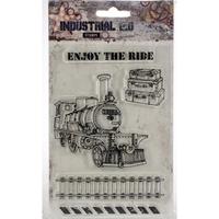 Εικόνα του Studio Light Industrial A6 Stamps - Enjoy The Ride