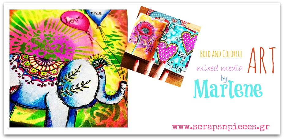 Mixed Media Art by Marlene