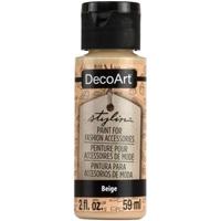 Εικόνα του DecoArt Stylin Multi Purpose Ακρυλικό Χρώμα για Δέρμα 59ml - Beige