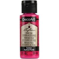 Εικόνα του DecoArt Stylin Multi Purpose Ακρυλικό Χρώμα για Δέρμα 59ml - Fuschia