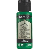Εικόνα του DecoArt Stylin Multi Purpose Ακρυλικό Χρώμα για Δέρμα 59ml - Green