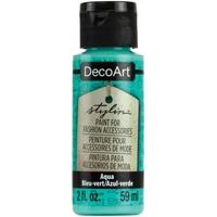 Εικόνα του DecoArt Stylin Multi Purpose Ακρυλικό Χρώμα για Δέρμα 59ml - Aqua