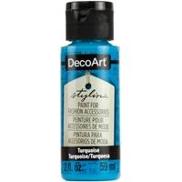 Εικόνα του DecoArt Stylin Multi Purpose Ακρυλικό Χρώμα για Δέρμα 59ml - Turquoise