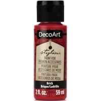 Εικόνα του DecoArt Stylin Multi Purpose Ακρυλικό Χρώμα για Δέρμα 59ml - Brick