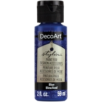 Εικόνα του DecoArt Stylin Multi Purpose Ακρυλικό Χρώμα για Δέρμα 59ml - Blue