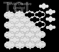 Εικόνα του Tando Creative Chipboard - Grid Moroccan