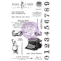Εικόνα του Prima Art Daily Planner Σετ Σφραγίδες - Carte Postale
