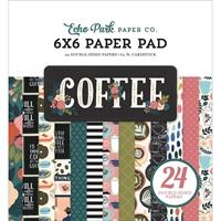 """Εικόνα του Echo Park Double-Sided Paper Pad 6""""X6"""" - Coffee"""