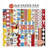 "Εικόνα του Carta Bella Double-Sided Paper Pad 6""X6"" - Circus"