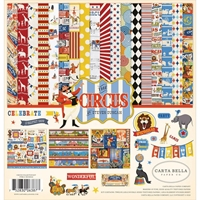 "Εικόνα του Carta Bella Collection Kit 12""X12"" - Circus"