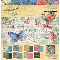 """Εικόνα του Graphic 45 Collection Pack 12""""X12"""" - Flutter"""