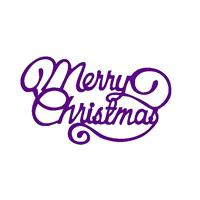 Εικόνα του Μήτρα Κοπής Sweet Dixie Dies - Large Merry Christmas