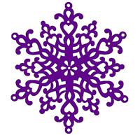Εικόνα του Μήτρα Κοπής Sweet Dixie Dies - Large Snowflake