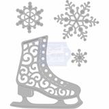 Εικόνα του Μήτρα Κοπής Sweet Dixie Dies - Ice Skate & Snowflakes