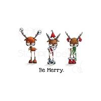 Εικόνα του Stamping Bella Cling Stamps - Oddball Reindeer Set