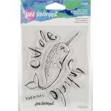 Εικόνα του Jane Davenport Artomology Clear Stamps - Relaxed Narwhal