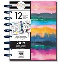 Εικόνα του Happy Planner 12-Month Dated Medium Planner - Watercolor Rainbow