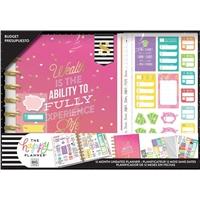 Εικόνα του Happy Planner 12-Month Undated Medium Planner Box Kit - Budget Wealth