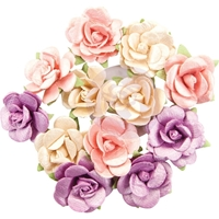 Εικόνα του Prima Marketing Moon Child Mulberry Paper Flowers - Pearlescent Gamma Ray