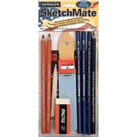 Εικόνα του General's SketchMate Charcoal & Graphite Drawing Kit