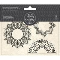 Εικόνα του Kelly Creates Acrylic Traceable Stamps - Mandala