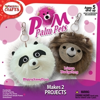 Εικόνα του Palm Pets Craft Kit - Panda & Hedgehog