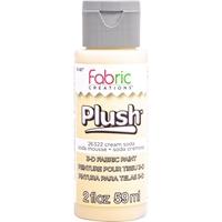 Εικόνα του Fabric Creations Plush 3D Fabric Paint - Μελάνι για Ύφασμα - Cream Soda