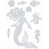Εικόνα του Μήτρα Κοπής Sweet Dixie Dies - Mermaid
