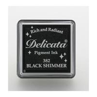 Εικόνα του Μελάνι Delicata Small Pigment Ink Pad - Black Shimmer