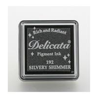 Εικόνα του Μελάνι Delicata Small Pigment Ink Pad - Silvery Shimmer