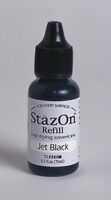 Εικόνα του Μελάνι Stazon Ink Reinker - Jet Black