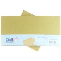 Εικόνα του Craft UK Κάρτες και Φάκελοι 5x5 - Kraft