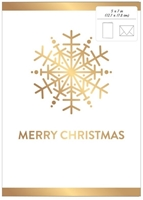 Εικόνα του American Crafts Ευχετήρια Κάρτα - Snowflake