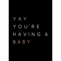 Εικόνα του Kaisercraft Kaiser Style Ευχετήριες Κάρτες - Yay Baby